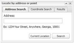 Address Search Box